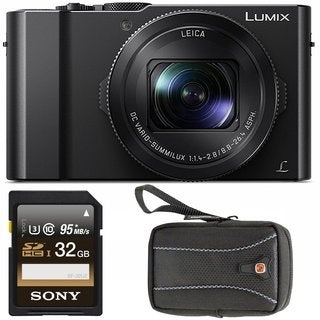 Panasonic Lumix 4K Digital Camera LX10 with 32GB Bundle