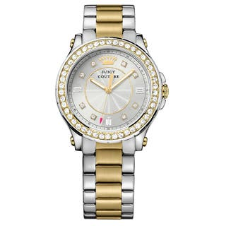 Juicy Couture Pedigree 2-tone Women's Watch|https://ak1.ostkcdn.com/images/products/14200208/P20795460.jpg?impolicy=medium