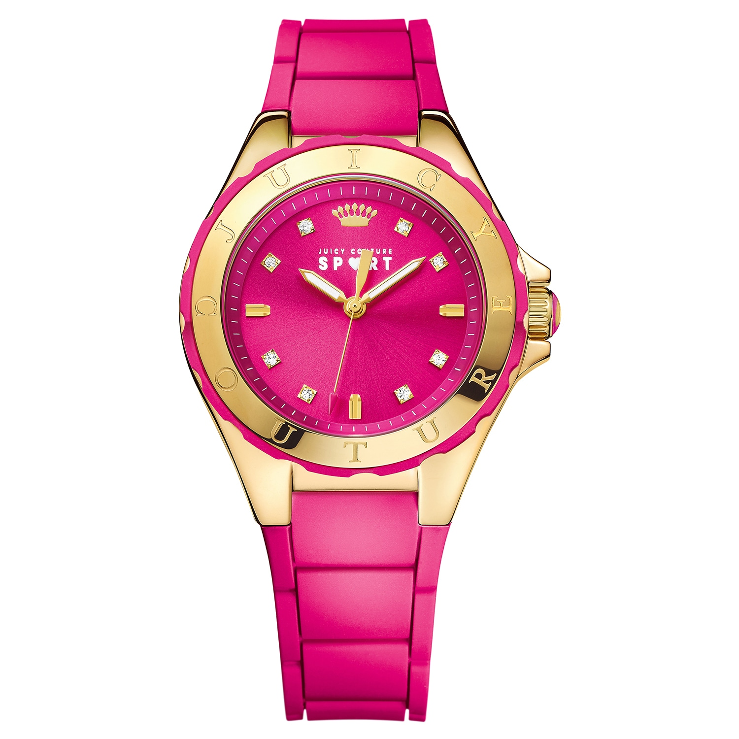 Juicy Couture Women's Rio 1901412 Rubber Watch (Watches),...