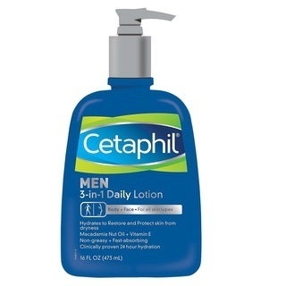 Cetaphil Men 3-in-1 16-ounce Daily Lotion