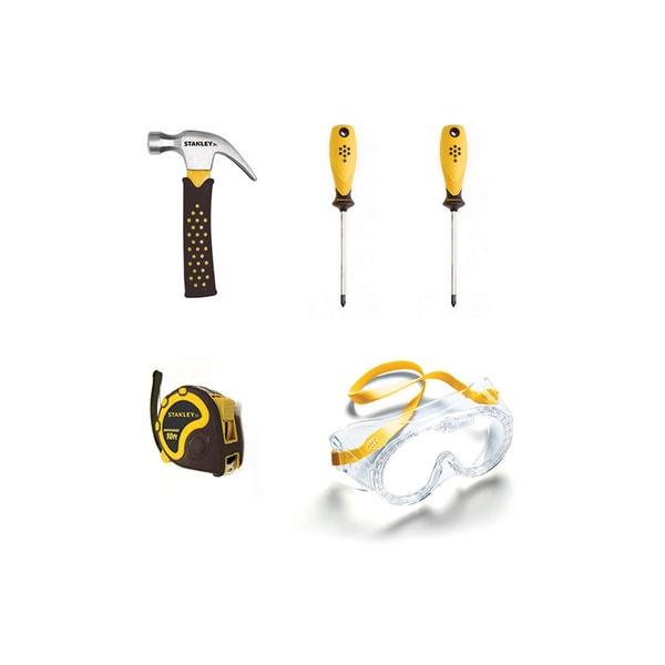 Reeves Stanley Jr. Plastic Tool Set (Pack of 5)