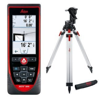 Leica DISTO S910 Exterior Package Bundle with S910, TRI200, FTA360S