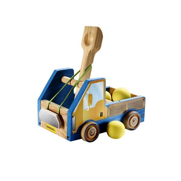 Reeves Stanley Jr. Truck Catapult Wood Building Kit