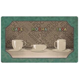 Mohawk Home Comfort Mat Coffee Selection Mat (1'6x2'6)
