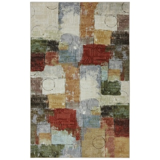Mohawk Home Strata Gypsy Quilt Area Rug (8' x 10')