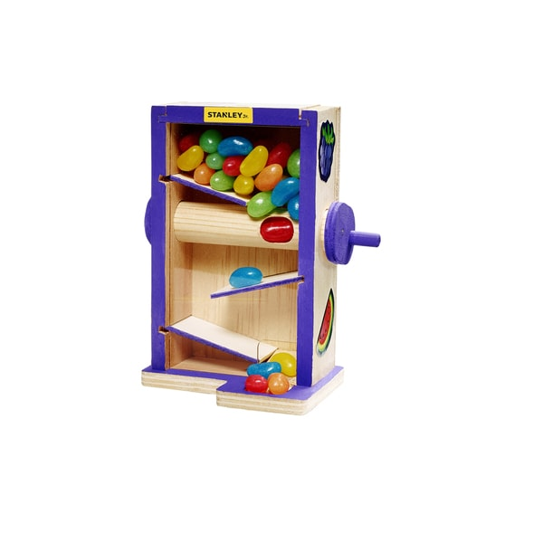 Stanley Jr. Wood Candy Maze Building Kit