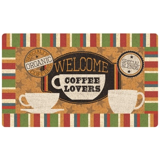 Mohawk Home Comfort Mat Welcome Coffeelovers Mat (1'6x2'6)