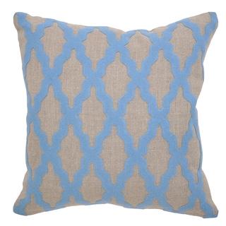 Kosas Home Heather Blue Throw Pillow