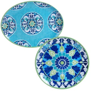 Certified International Granada Platters (Set of 2)