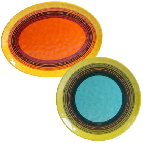 Certified International 2-piece Sedona Platter Set
