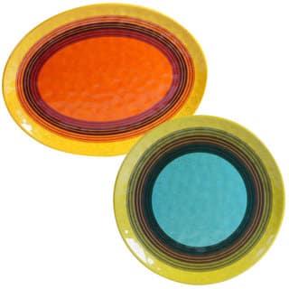 Certified International 2-piece Sedona Platter Set