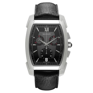 Balmain Men's Arcade B57415266 Leather Watch