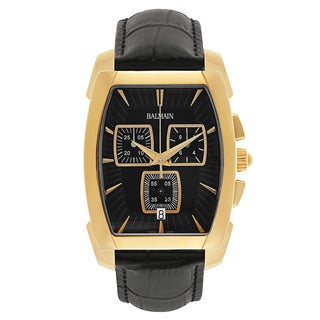 Balmain Arcade Men's B57493264 Leather Watch