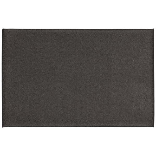 """Mohawk Utility Mat Footlover-Pebbleface Rich Black Mat (1'6x2'6) - 1'6"""" x 2'6"""""""