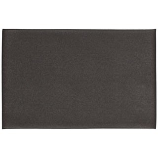 Mohawk Home Utility Mat Footlover-Pebbleface Rich Black Mat (1'6x2'6)