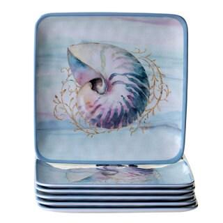 Certified International Ocean Dream Salad Plates (Set of 6)