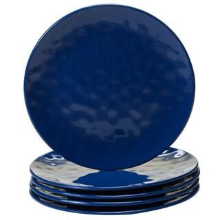 Certified International Cobalt Blue Melamine 9-inch Salad Plates (Pack of 6)