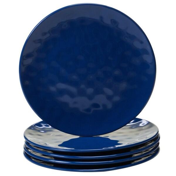 Shop Certified International Cobalt Blue Melamine 9 Inch