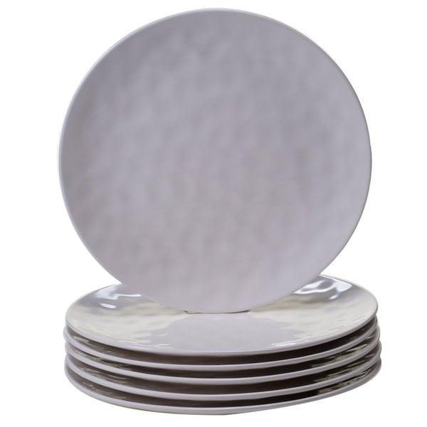 Certified International Cream Melamine 11-inch Dinner Plates (Pack of 6)  sc 1 st  Overstock.com & Certified International Cream Melamine 11-inch Dinner Plates (Pack ...