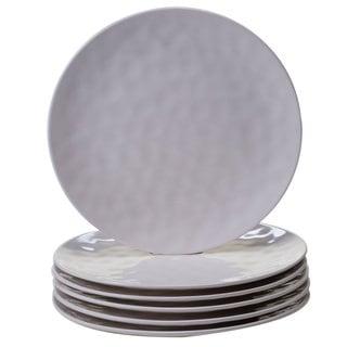 Certified International Cream Melamine 11-inch Dinner Plates (Pack of 6)