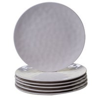 Gibson Plaza Cafe 12 piece Dinnerware Set in White Solid Color ...