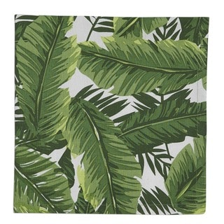 Banana Leaf Printed Napkin Set of 6