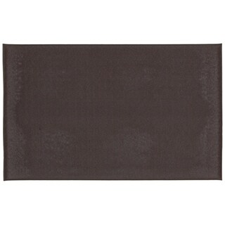 Mohawk Home Utility Mat Footlover-Pebbleface Costa Brown Mat (1'6x2'6)