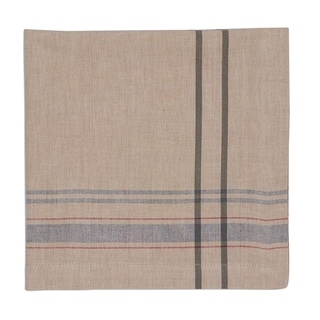 Natural French Stripe Napkin Set of 4
