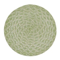 Garden Leaf Braided Placemat (Pack of 6)