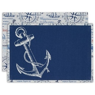Anchor Printed Placemat Set of 6