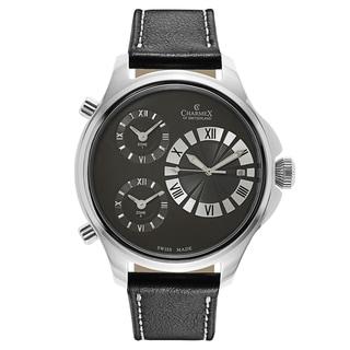 Charmex Cosmopolitan II Men's 2596 Leather Watch