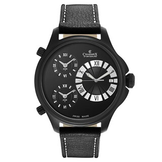 Charmex Cosmopolitan II Men's Leather Watch