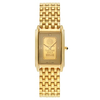 Charmex Ingot Men's 1555 Gold Plated Watch