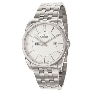 Charmex Men's New Yorker 2625 Silver Stainless Steel Watch