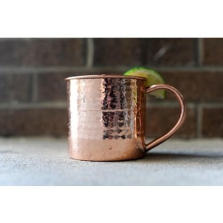 Alchemade Hammered 16 oz. Copper Mug