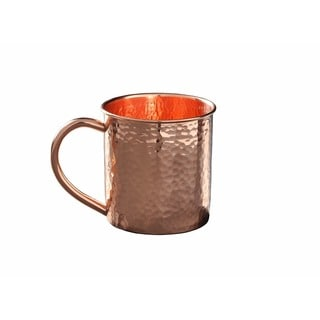 Alchemade Hammered 12 oz. Copper Mug
