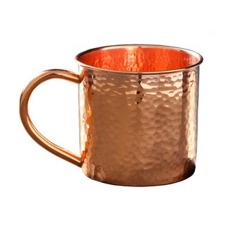 Alchemade Hammered 14 oz. Copper Mug