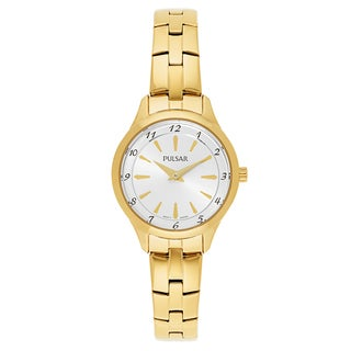Pulsar Business Gold-plated Stainless Steel Women's Watch