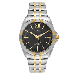 Pulsar Easy Style 2-tone Stainless Steel Men's Watch