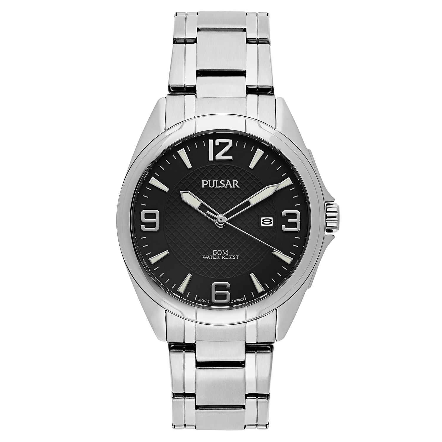 PULSAR Easy Style Stainless Steel Men's Watch (Watches), ...