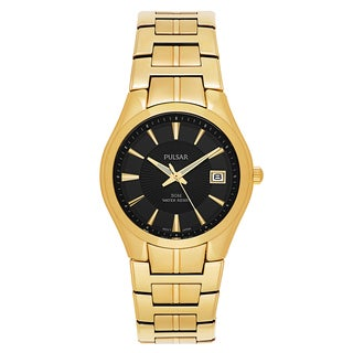 Pulsar Men's Easy Style PXH914 Goldplated Watch