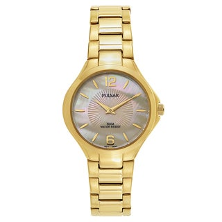 Pulsar Night Out Women's PM2222 Goldplated Watch