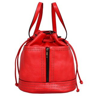 Mellow World Jill Red Convertible Handbag