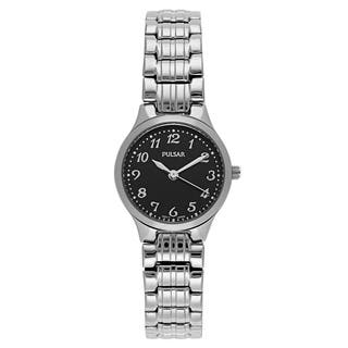 Pulsar Women's PG2035 Traditional Stainless Steel Watch|https://ak1.ostkcdn.com/images/products/14200557/P20795751.jpg?impolicy=medium