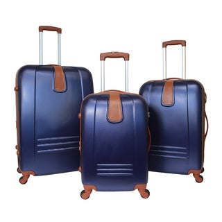 World Traveler Classic Journey 3-Piece Hardside Spinner Luggage Set