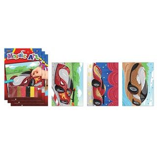 ArtLover Car-themed Mosaic Art Activity Kits (Set of 3)