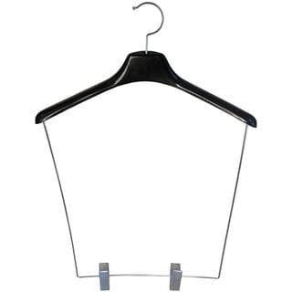 Black Plastic Heavy-duty 12-inch-drop Display Hanger (Case of 12)