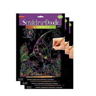 Artlover Rainbow Scratch-a-doodle