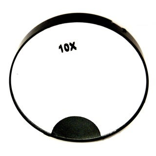 Rucci 10x Magnification LED Light Mirror with Suction Cups