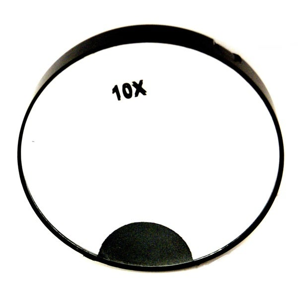 Shop Rucci 10x Magnification Led Light Mirror With Suction